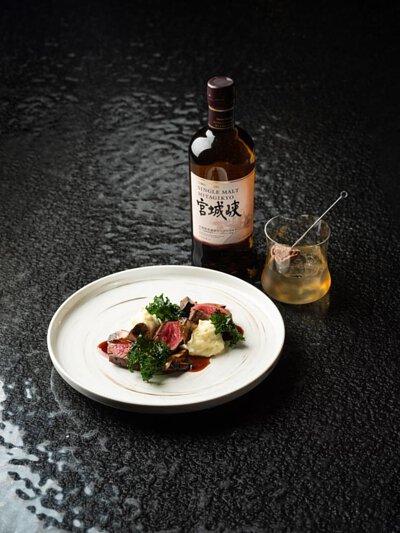 Miyagikyo Single Malt Whisky or Japanese Negroni
