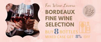 Bordeaux Fine Wine Mixed Case Promotion