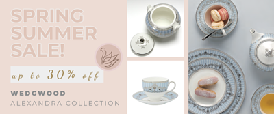 wedgwood Spring Summer promotion