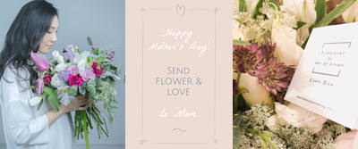 Send Flower & love to Mom at Mother's Day, flower, bouquet, Floristry by Art of Living