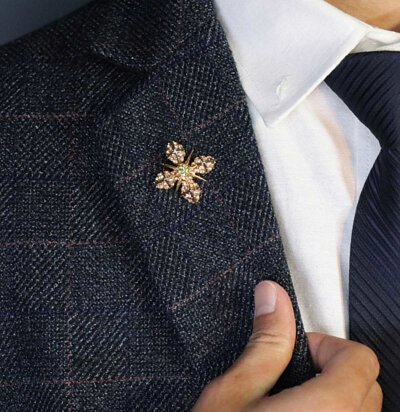 GL襯衫簡約質感小型胸針