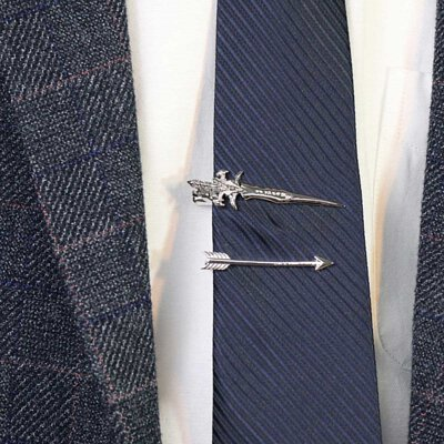 GL襯衫鱷魚嘴式領帶夾