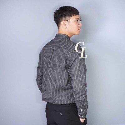 GL襯衫面試穿搭條紋襯衫
