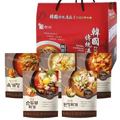 經典韓國進口湯品5入禮盒~年節禮盒首選