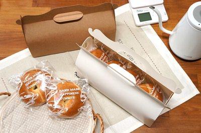 面包袋 点心袋 礼盒 贝果袋 透明袋 手提盒 手提纸盒