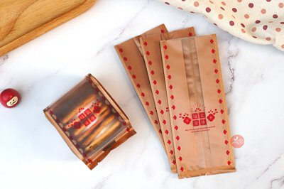 饼干盒 饼干袋 饼干内衬 春节 新年