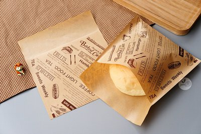麵包袋 紙袋 牛皮紙袋 點心袋
