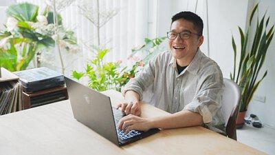 MSI, 手提電腦, modern, laptop, blog, professional