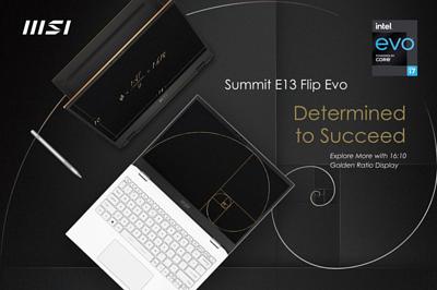 必勝決心!榮獲 CES 大獎的 MSI Summit 系列,成為提升商務與生產力的最佳解決方案
