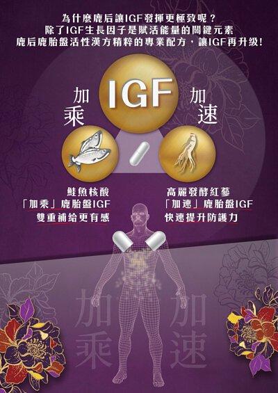 鮭魚核酸加乘鹿胎盤IGf生長因子作用高麗發酵紅蔘加速igf生長因子作用