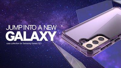 ITSKINS Samsung Galaxy S21 抗菌防摔保護殼