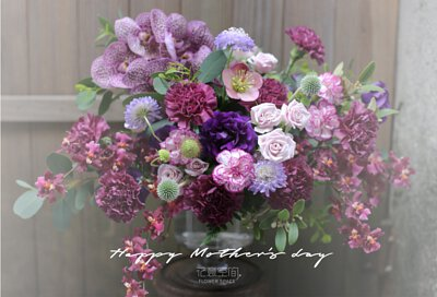 母親節盆花