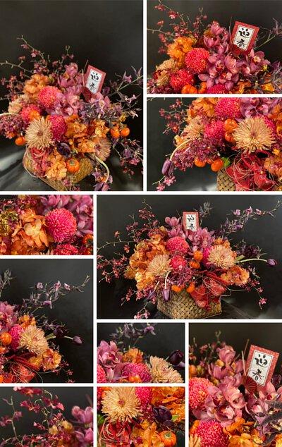春節盆花課程