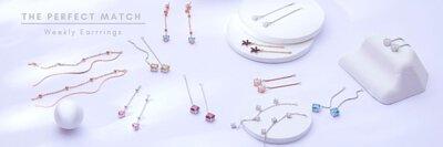 耳環推薦,純銀耳環,耳環品牌,earrings,stud earrings,耳環鋼