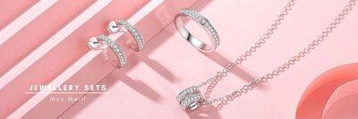jewelry set,earrings pendant rings set,首飾套系,首飾套裝,jewellery sets online