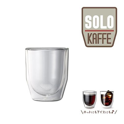 récolte Solo Kaffe Solo 咖啡機 - 雙層玻璃咖啡杯