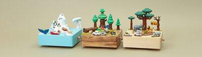 摩艾音樂盒-南極音樂盒-露營音樂盒-熱帶雨林音樂盒-