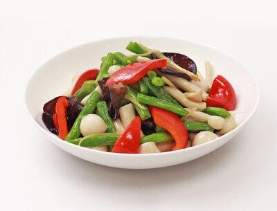 精靈菇雲豆