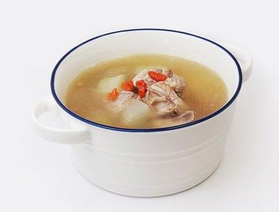 刺瓜仔排骨湯