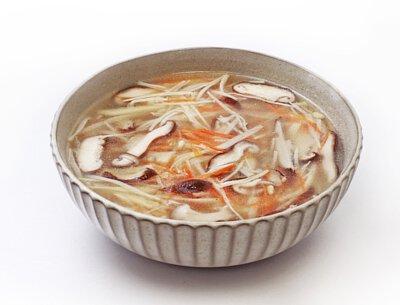 金菇三絲湯