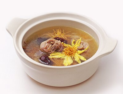 錦繡蓮香雞湯