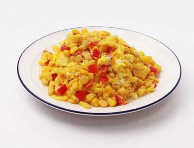 金黃玉米甜嫩蛋