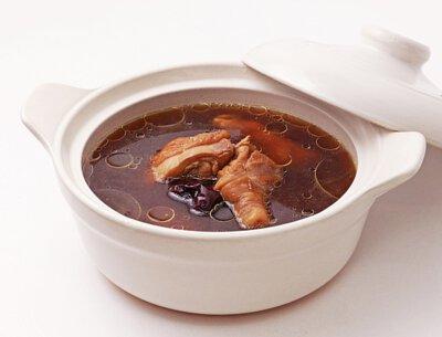 養生黑金雞湯