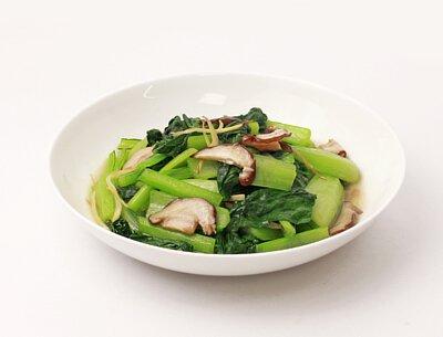 薑菇小松菜