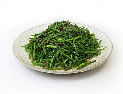 豆豉炒野蓮