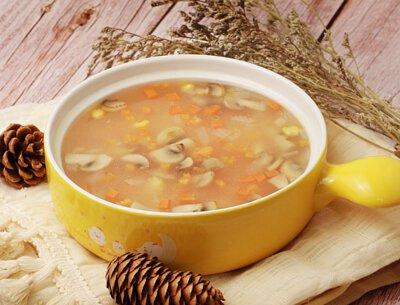 玉米洋菇香濃湯