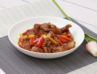 嗆香黑胡椒肉片