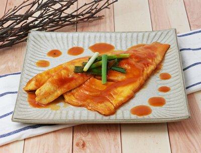 茄汁鱸魚排