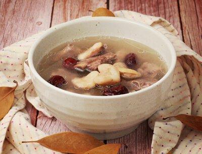 養生秋菱排骨湯
