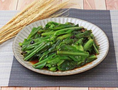 豆豉炒山蘇