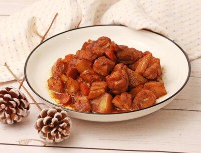 薯香燒雞丁