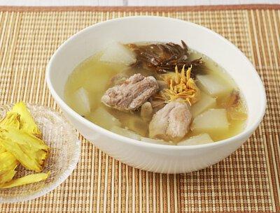 白蘿蔔香蓮湯