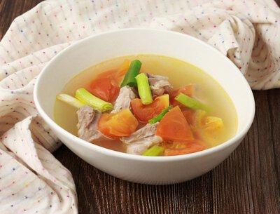 紅柿軟骨湯