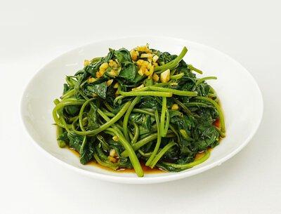 鮮炒芥蘭菜