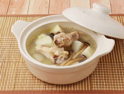 山藥野菇雞湯