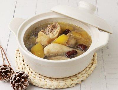 高山雪蓮果煲湯