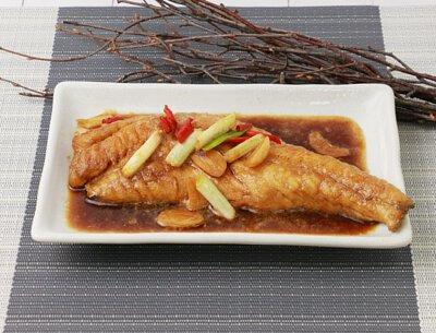 紅燒鮮鱸魚