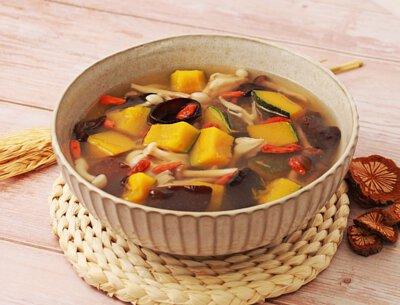 金瓜菇菇湯