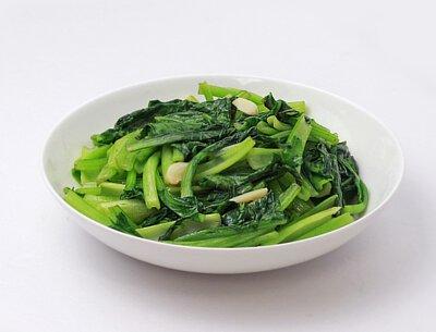 蒜炒青油菜