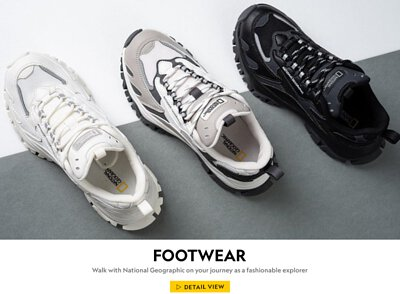Walk with National Geographic on your journey as a fashionable explorer
