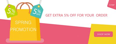 5% discount ,LiveGo, promotion