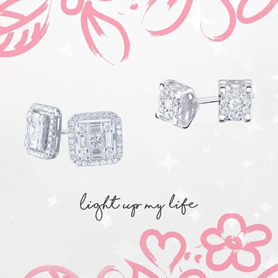 鑽石耳環 Diamond Earrings