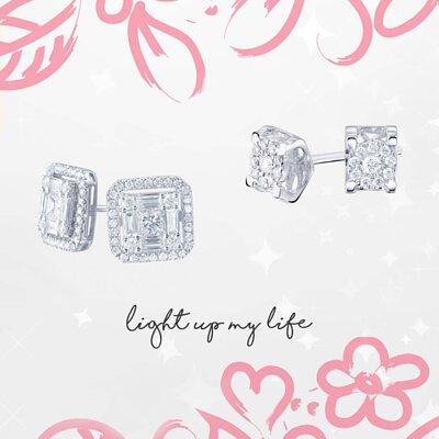 鑽石耳環 Diamond Earrings