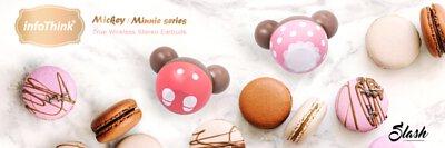 infoThink 米妮系列真無線藍牙耳機 (草莓巧克力限定造型)