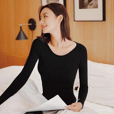 KEEXUENNL 升級版溫感保暖內衣|黑色
