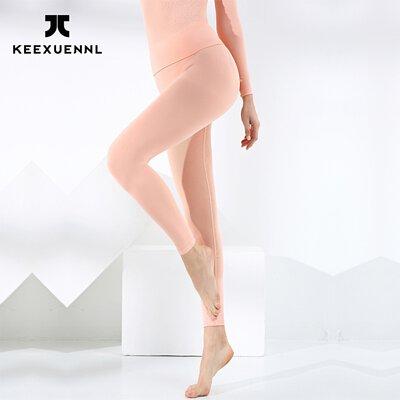 KEEXUENNL 升級版溫感保暖褲|粉紅色